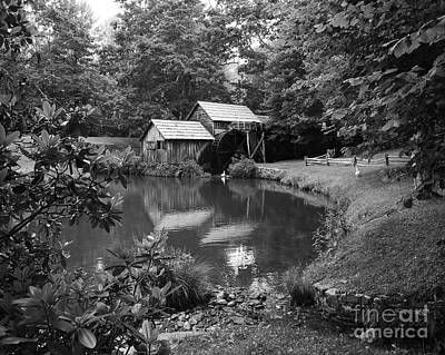 Mabry Mill 2 Art Print by Mel Steinhauer