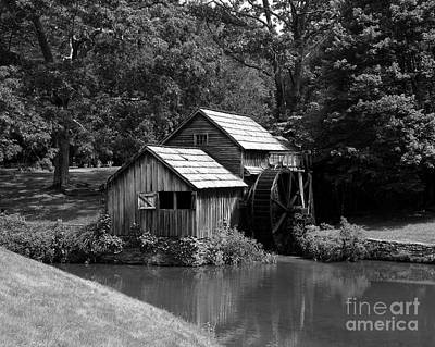Grist Mill Photograph - Mabry Mill 3 by Mel Steinhauer