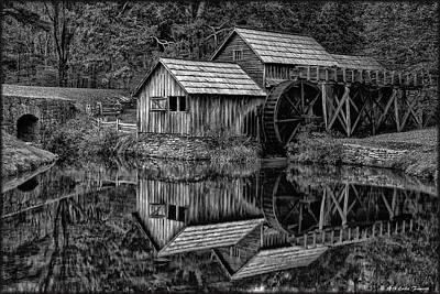 Photograph - Mabry Mill by Erika Fawcett