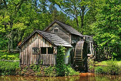 Mabry Mill Art Print by Heather Allen