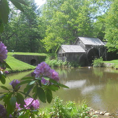 Photograph - Mabry Mill In May by Diannah Lynch
