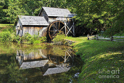 Photograph - Mabry Mill In The Summer by Jill Lang