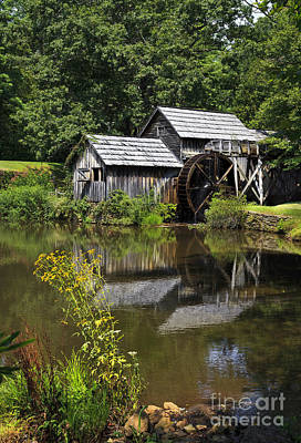 Photograph - Mabry Mill In Va by Jill Lang