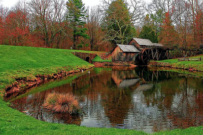 Water Mill Photograph - Mabry Mill In Virginia by Marcia Colelli