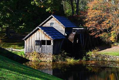 Photograph - Mabry Mill by Kathryn Meyer