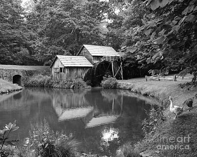 Mabry Mill Art Print by Mel Steinhauer