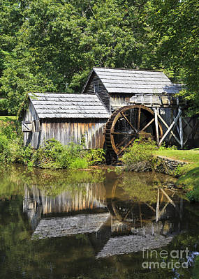 Photograph - Mabry Mill Reflections by Jill Lang