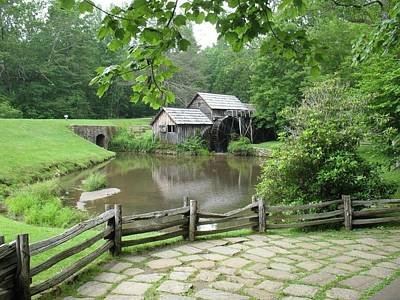 Photograph - Mabry Mill Summertime by Diannah Lynch