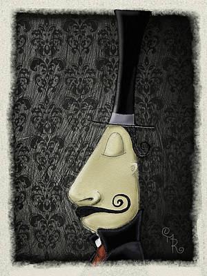 Whimsical Drawings Photograph - Mac Cabre by Mark Rodriguez aka Godriguez