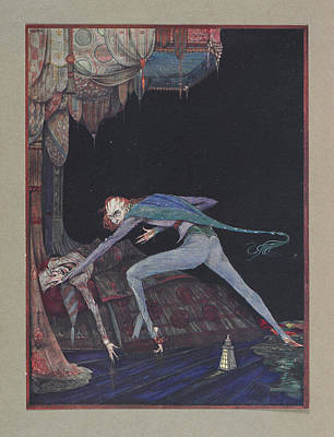 Macabre Art Print by British Library