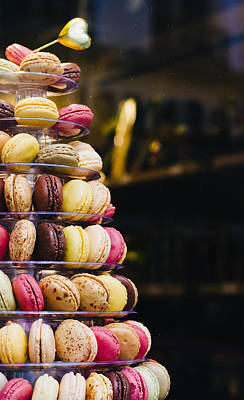 Photograph - Macarons by Pati Photography