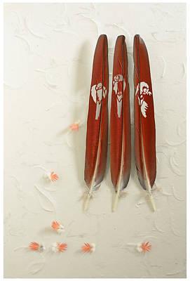 Macaw Perchers Original by Chris Maynard