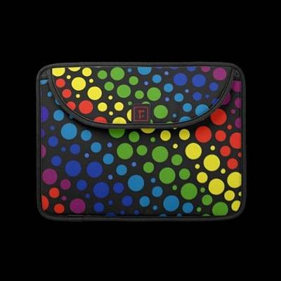 Pattern Photograph - #macbook #cover #rainbow #awesome by Mandy Shupp