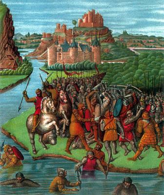 River Jordan Photograph - Maccabean Revolt, 2nd Century Bc by Science Source