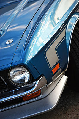 Photograph - Mach 1 Ford Mustang 1971 by Gordon Dean II