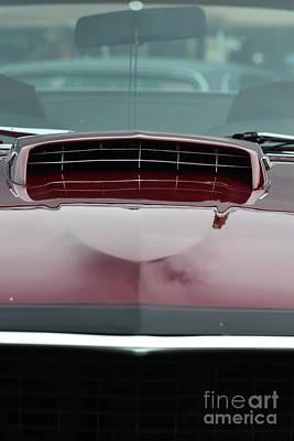 Photograph - Mach 1 Hood Scoop by Dean Ferreira
