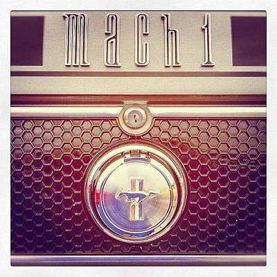 Car Photograph - Mach 1 by Mike Maher