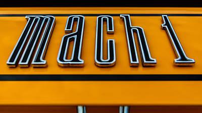 Photograph - Mach 1 by Randy Scherkenbach
