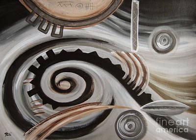Painting - Machine by Eva-Maria Becker