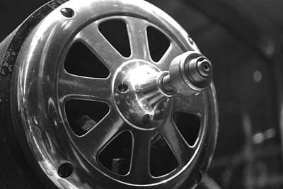Photograph - Machine Motor by Richelle Munzon