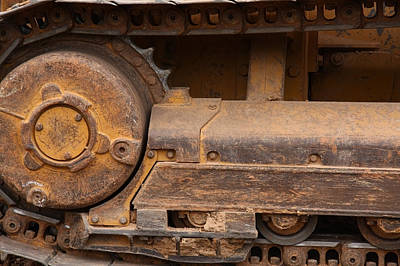 Photograph - Machinery by Melinda Fawver