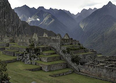 Photograph - Machu Picchu 1 by Alan Toepfer