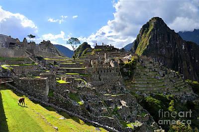 Machu Picchu Afternoon Original by Catherine Sherman