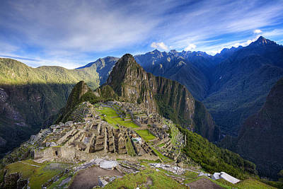 Sky Photograph - Machu Picchu by Alexey Stiop