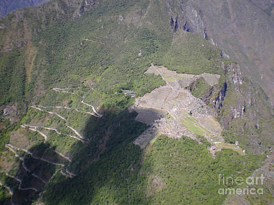 Photograph - Machu Picchu From Huayna Picchu by Rudi Prott
