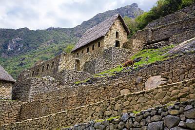 Photograph - Machu Picchu Gate House by Alexey Stiop