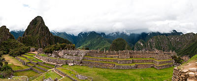 Photograph - Machu Picchu Main Square And The Group Of The Three Doorways by Ulrich Schade