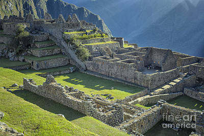 Photograph - Machu Picchu by Patricia Hofmeester