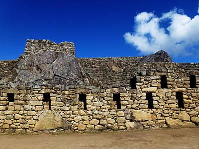 Photograph - Machu Picchu Peru 13 by Xueling Zou