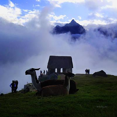 Photograph - Machu Picchu Peru 14 by Xueling Zou