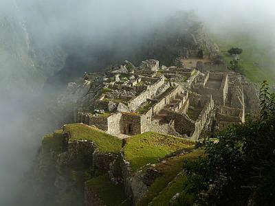 Photograph - Machu Picchu Peru 2 by Xueling Zou