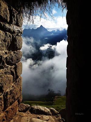 Photograph - Machu Picchu Peru 4 by Xueling Zou