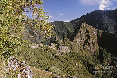 Photograph - Machu Picchu Peru From The Sun Gate by Rudi Prott