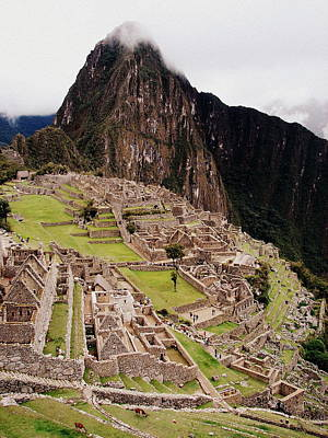 Photograph - Machu Picchu by Ramona Johnston