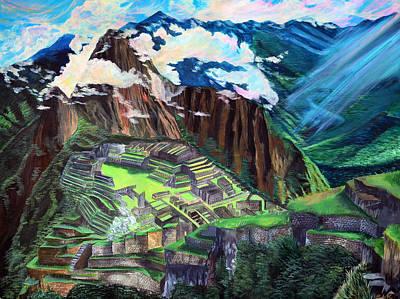 Machu Picchu Original by Sarah Tiffany King