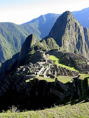 Ruins Photograph - Machu Picchu Western Sector by Roger Burkart