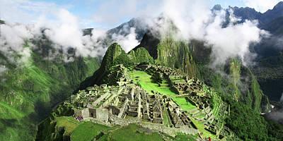 Machu Picchumachu Picchu Art Print by Ramihalim