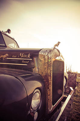 Bobtails Photograph - Mack Profile by Off The Beaten Path Photography - Andrew Alexander