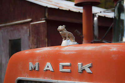 Photograph - Mack Truck 5 by Charles Harden