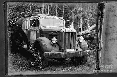Photograph - Mack Truck by David Arment