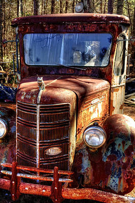 Photograph - Mack Truck by Greg Mimbs