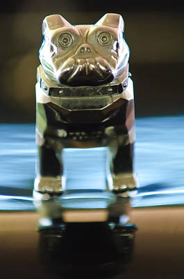 Car Mascots Photograph - Mack Truck Hood Ornament 2 by Jill Reger
