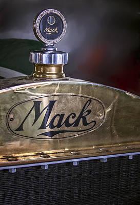 Mack Truck Logo Art Print by F Leblanc