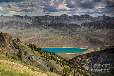 Lost River Mountains Photograph - Mackay Reservoir And Lost River Range by Robert Bales