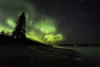 Lakeshore Drive Photograph - Mackenzie Point Aurora 4 by Jakub Sisak