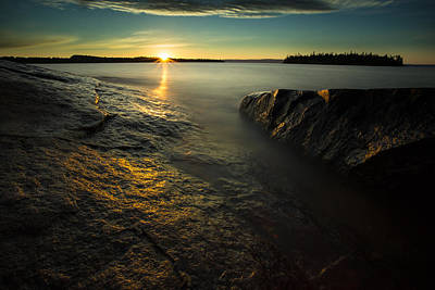 Gichigami Photograph - Mackenzie Point September Sunrize by Jakub Sisak
